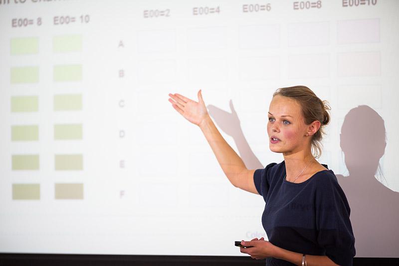 a presentation